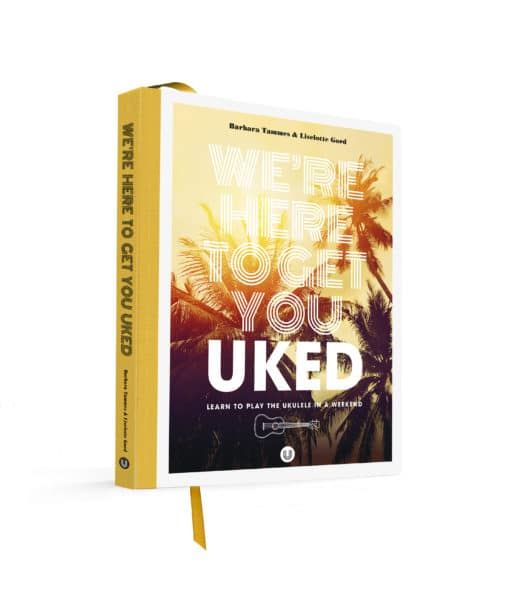 Uked book english version learn to play ukulele