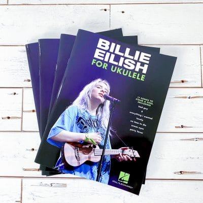 billie eilish for ukulele boek