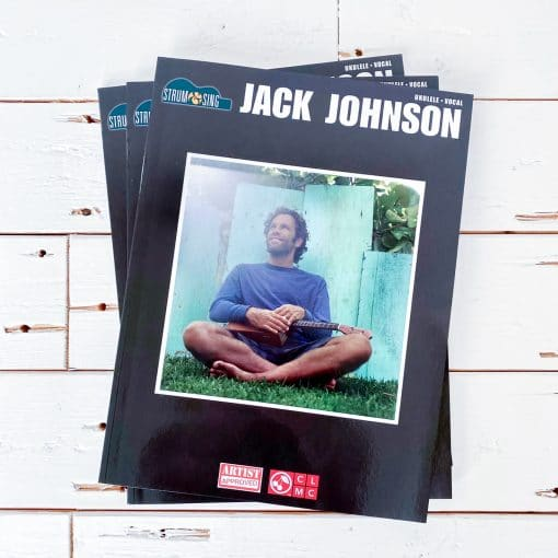 jack johnson ukulele strum & sing boek